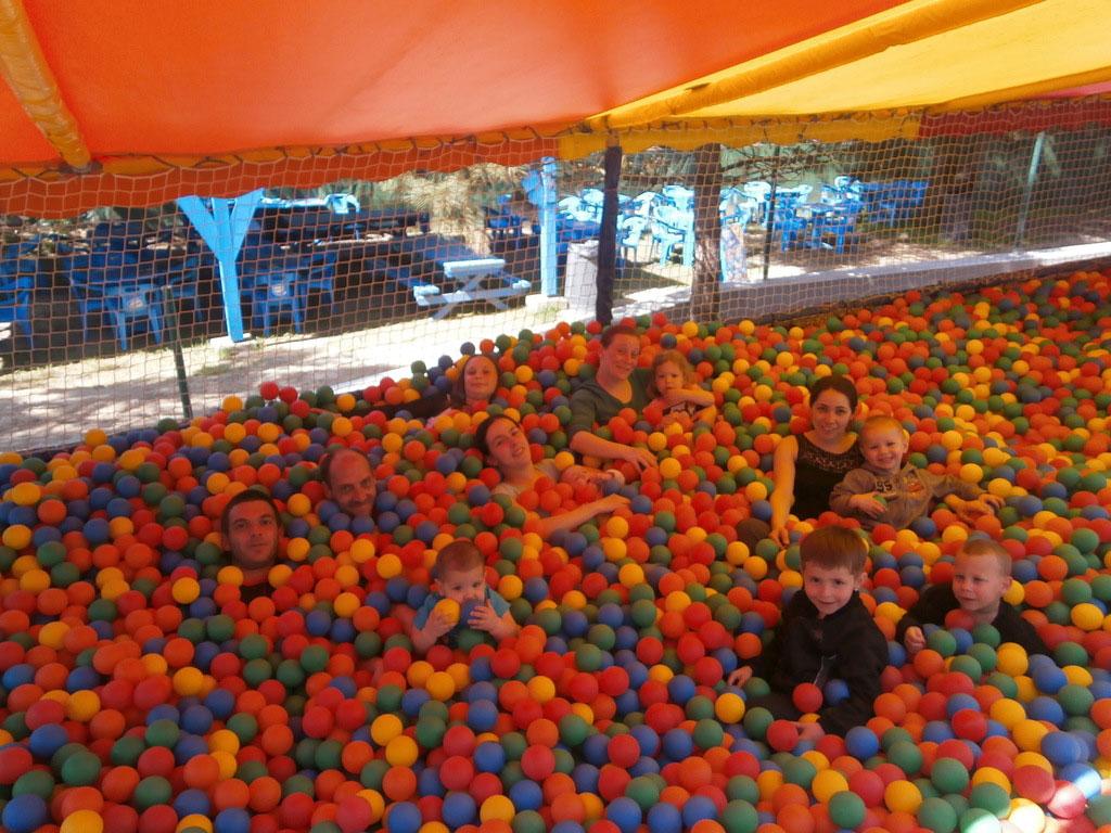 Piscine à boules parc des Dunes