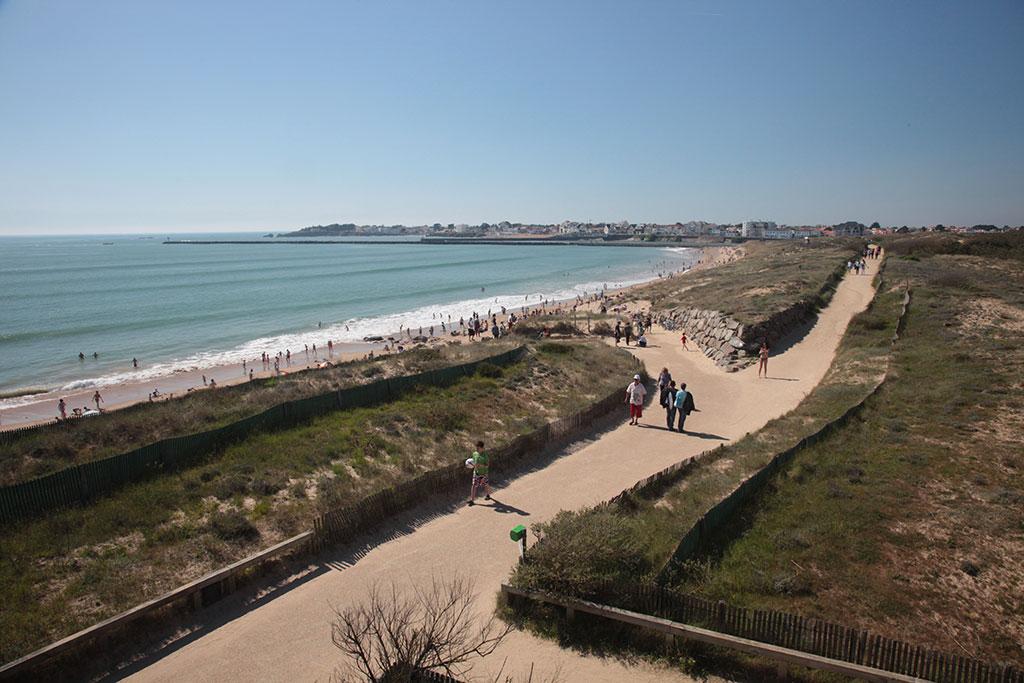 Les grandes plages de Saint Gilles Croix de Vie