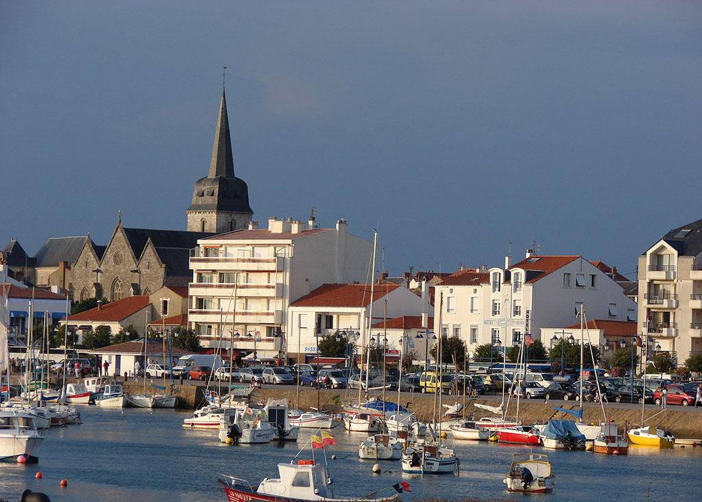 Port de pêcheurs à Saint Gilles Croix de Vie