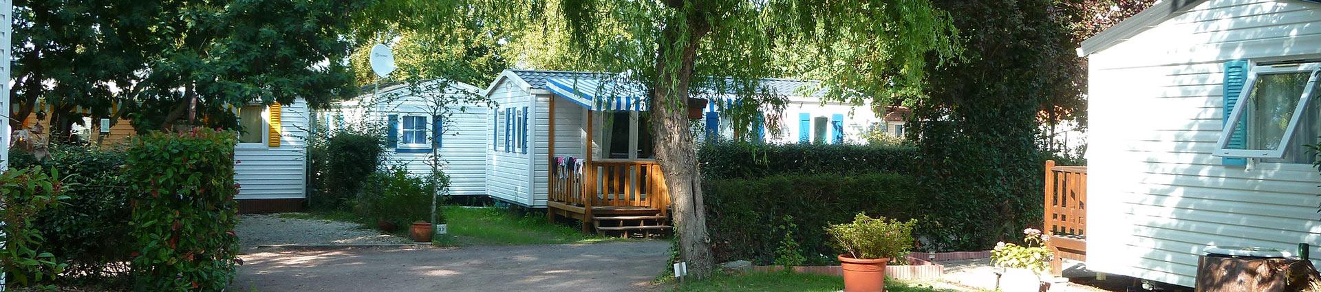 location de mobilhome camping St Hilaire de Riez