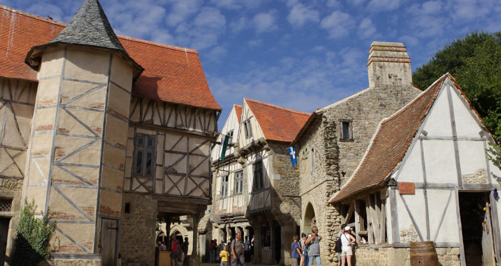 La cité médiévale du grand parc