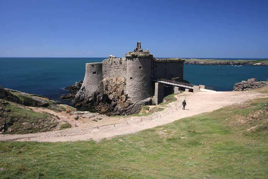 Le château de l'île d'Yeu