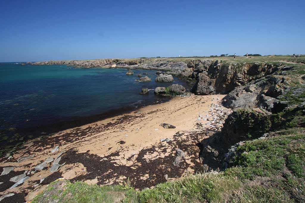 Côte sauvage de l'île d'yeu