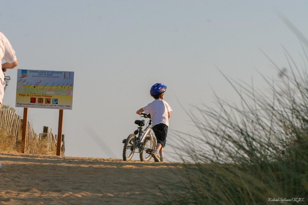 saint hilaire de riez à vélo