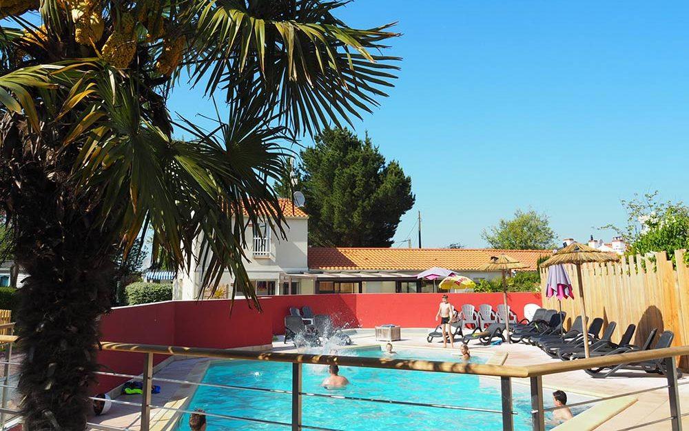 la piscine du camping de St Hilaire de Riez