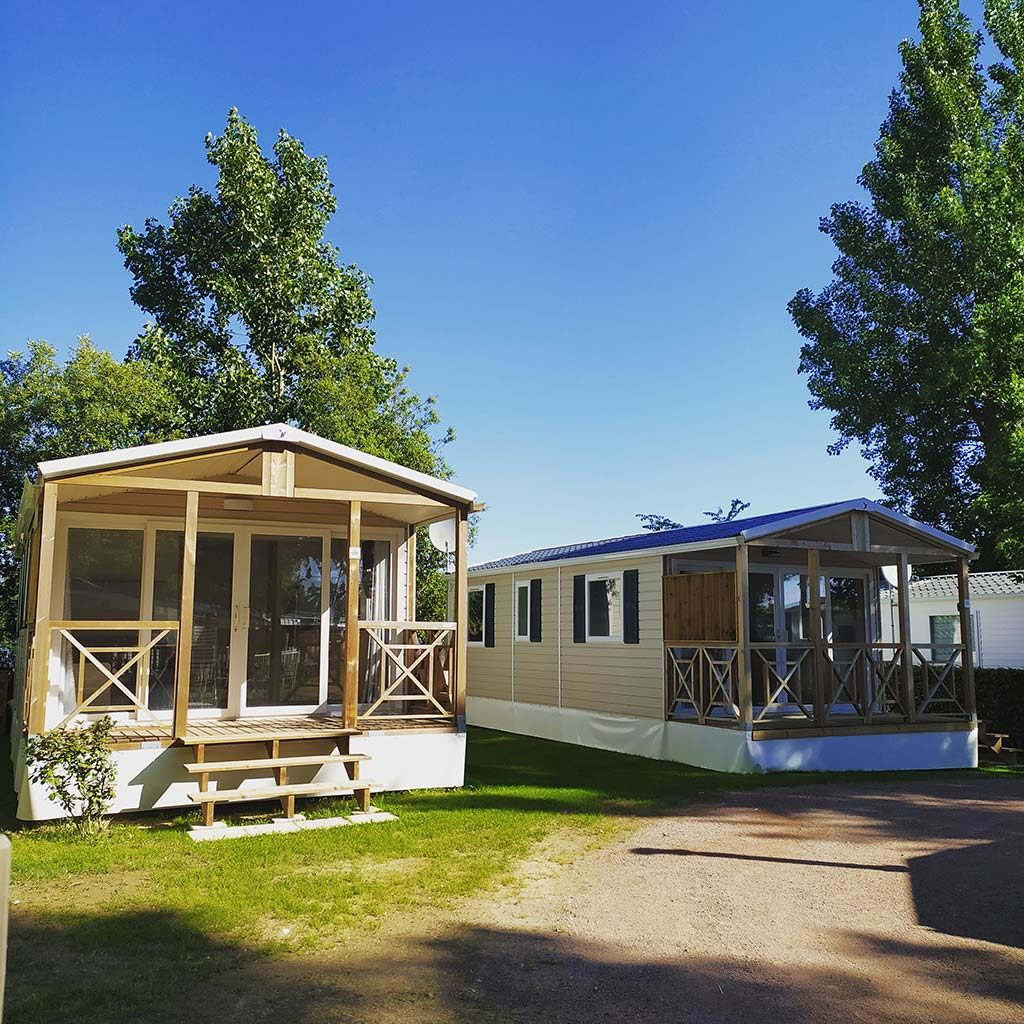 Mobil-home Trigano Neuf 2 chambres 4 pers.