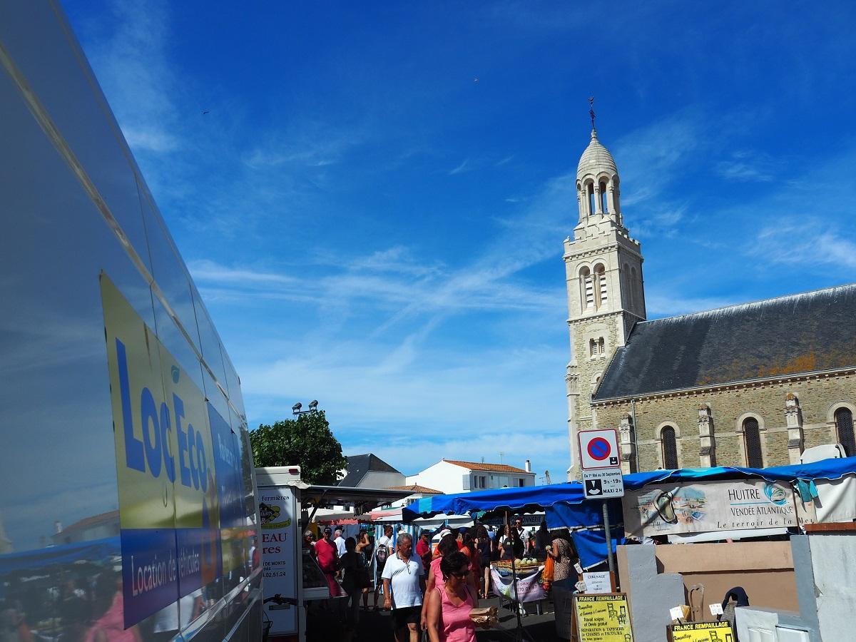 marché Saint Gilles Croix de Vie