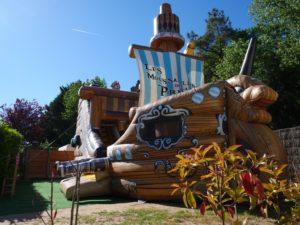 chateau gonflable du camping à st hilaire de riez